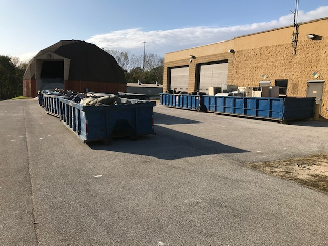 Citywide cleanup dumpsters 2019b