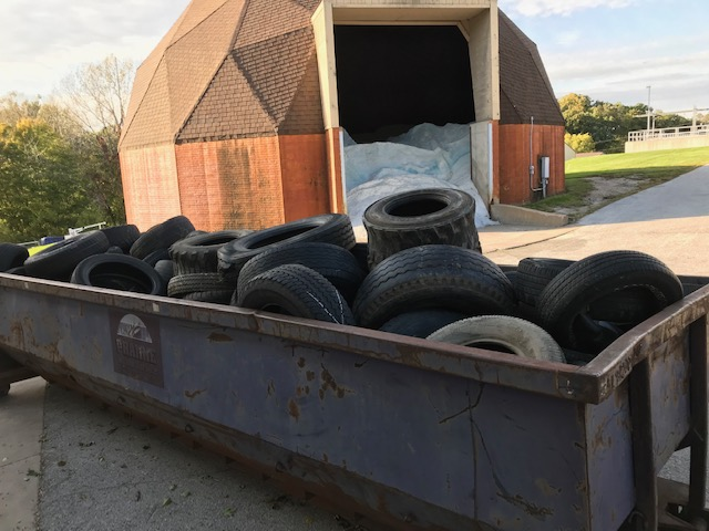Citywide cleanup tires 2019